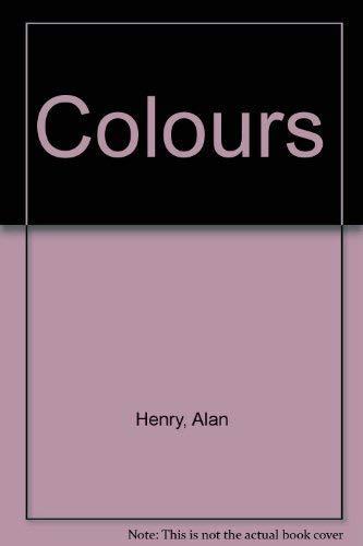 9781855341982: Colours