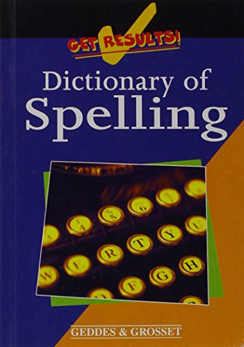 Dictionary of Spelling: unknown