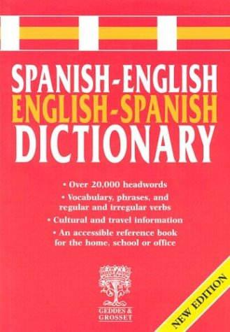 Spanish-English Dictionary (Spanish Edition) (9781855349629) by [???]