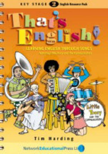 9781855391819: That's English!: Learning English Through Songs