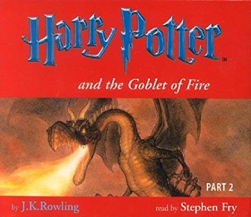 9781855496798: Harry Potter and the Goblet of Fire (Book 4 - Part 2 - 9 Audio CD Set)