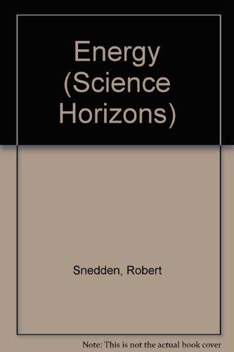 9781855613737: Energy (Science Horizons)