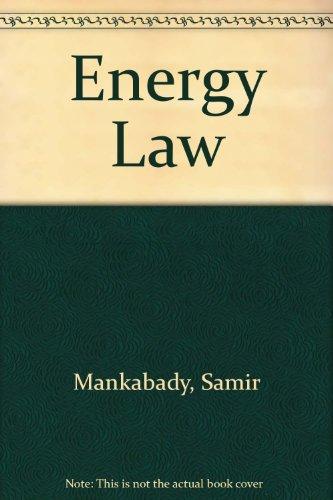 9781855640313: Energy Law