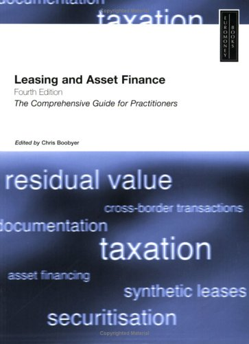 Leasing and Asset Finance: Chris Boobyer