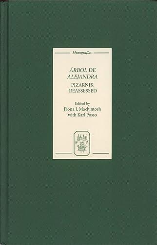 9781855661530: Arbol de Alejandra: Pizarnik Reassessed (Monografías A)