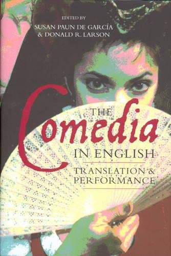 9781855661691: The Comedia in English: Translation and Performance (Monografías A) (Monografías A)