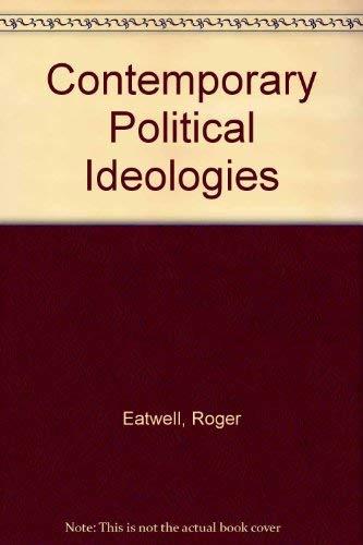 9781855676053: Contemporary Political Ideologies