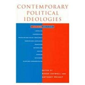 9781855676060: Contemporary Political Ideologies