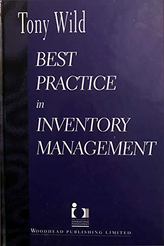9781855733107: Best Practice in Inventory Management