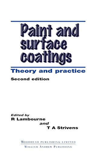 9781855733480: Paint and Surface Coatings: Theory and Practice (Woodhead Publishing Series in Metals and Surface Engineering)