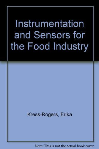 9781855733633: Instrumentation and Sensors for the Food Industry