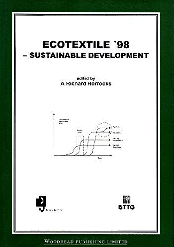 Ecotextile ?98: Sustainable Development (Woodhead Publishing Series in Textiles): Woodhead ...