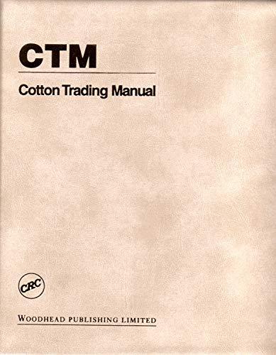 9781855734395: Cotton Trading Manual