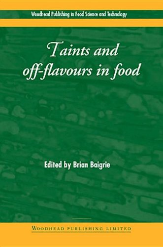 Taints and Off-Flavours in Foods (Hardback)