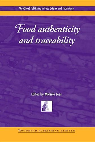 9781855735262: Food Authenticity and Traceability