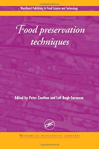 Food Preservation Techniques: Zeuthen P.