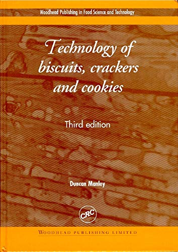 9781855735323: Technology of Biscuits, Crackers and Cookies (Woodhead Publishing Series in Food Science, Technology and Nutrition)