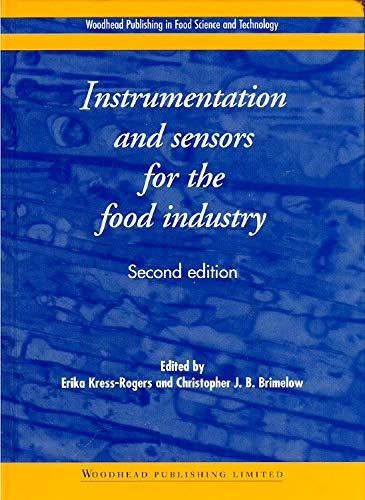 9781855735606: Instrumentation and Sensors for the Food Industry, Second Edition (Woodhead Publishing Series in Food Science, Technology and Nutrition)