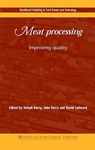 Meat Processing: Improving Quality (Woodhead Publishing Series