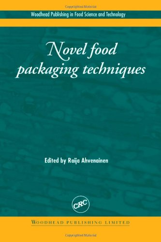 9781855736757: Novel Food Packaging Techniques (Woodhead Publishing Series in Food Science, Technology and Nutrition)