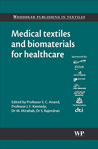 Medical Textiles and Biomaterials for Healthcare (Hardback)