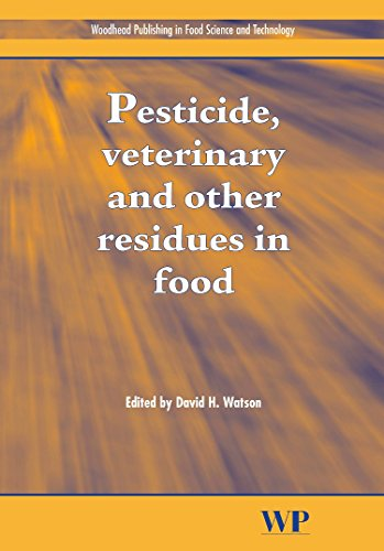Pesticides, Veterinary and Other Residues in Food: D Watson