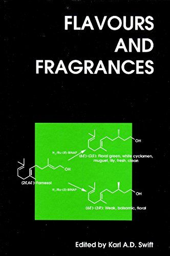 9781855737808: Flavours and Fragrances (Woodhead Publishing Series in Food Science, Technology and Nutrition)