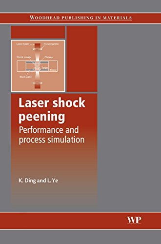 9781855739291: Laser Shock Peening: Performance and Process Simulation: Performance and Process Simulations (Woodhead Publishing Series in Metals and Surface Engineering)
