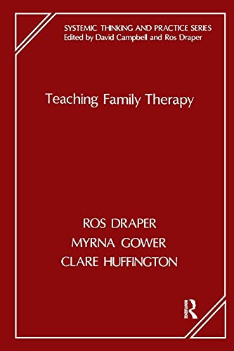9781855750210: Teaching Family Therapy (Systemic Thinking and Practice Series)