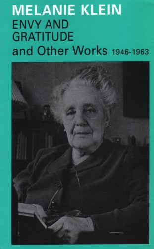9781855750593: Envy and Gratitude and Other Works 1946-1963