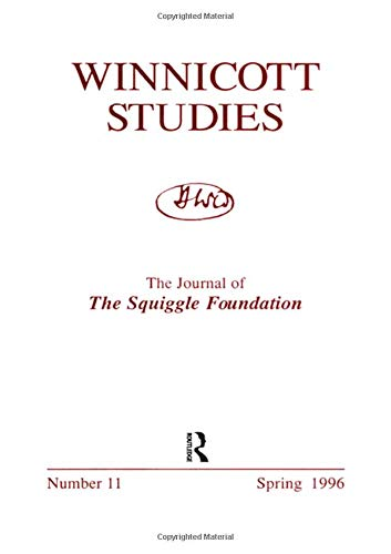 Winnicott Studies No. 9 (The Winnicott Studies Monograph Series) (v. 26): Foundation, The Squiggle