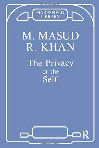 9781855751354: The Privacy of the Self (Maresfield Library)