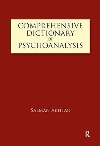 9781855754713: Comprehensive Dictionary of Psychoanalysis
