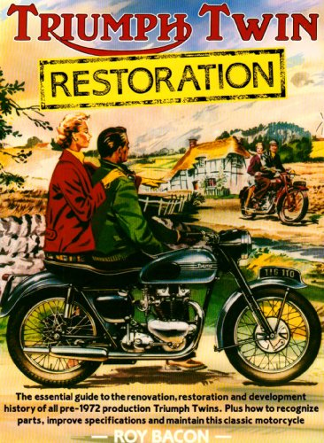 Triumph Twin Restoration (1855790408) by Bacon, Roy H.