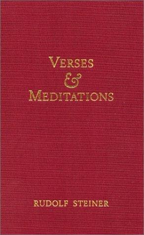 9781855840034: Verses and Meditations