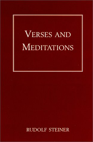 9781855840041: Verses and Meditations.