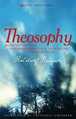 9781855841314: Theosophy: An Introduction to the Supersensible Knowledge of the World and the Destination of Man (Classic Translation)