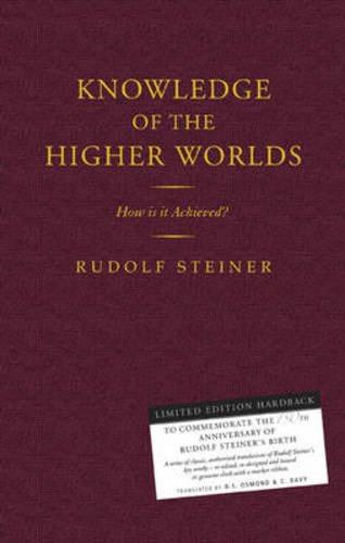 9781855842557: Knowledge of the Higher Worlds: How Is It Achieved? (CW 10)