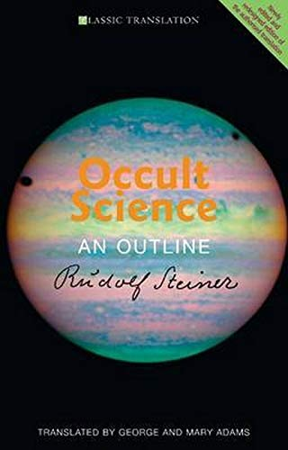 9781855843851: Occult Science: An Outline (CW 13)