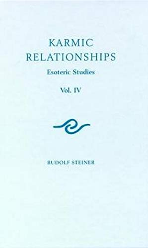 9781855845381: Karmic Relationships: 4: Esoteric Studies: Esoteric Studies (Cw 238)