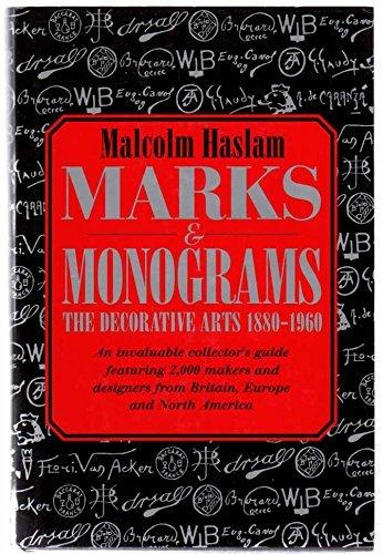 9781855850248: Marks & Monograms: The Decorative Arts 1880-1960
