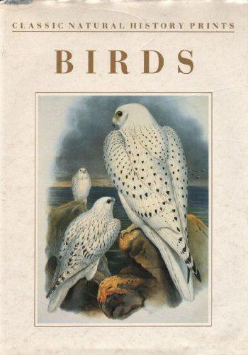 9781855850651: Birds (Classic Natural History Prints)