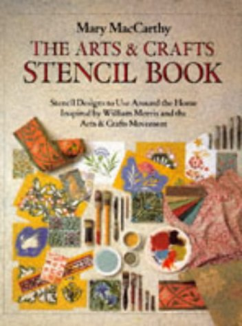 9781855852778: Arts and Crafts Stencil Book