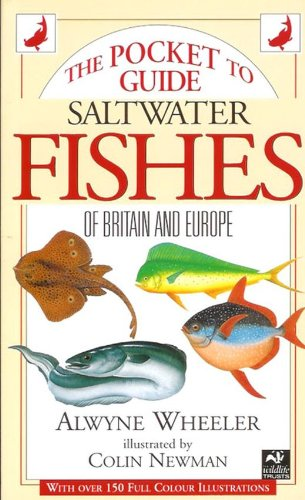 9781855853645: Pocket Guide to Saltwater Fishes of Britain and Europe