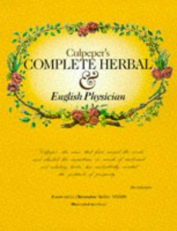 Culpeper's Complete Herbal: Culpeper, Nicholas