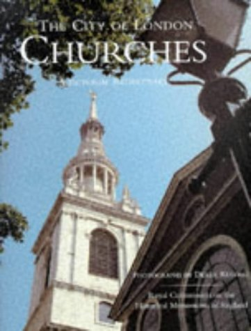9781855854611: The City of London Churches: A Pictorial Rediscovery