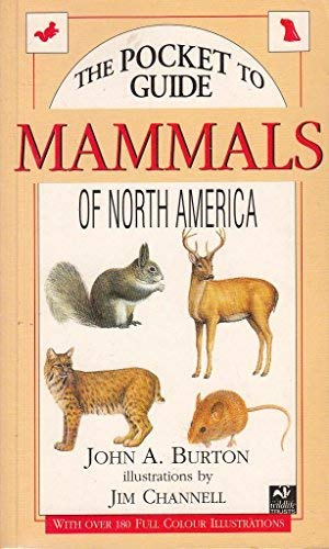 9781855855540: The Pocket Guide to Mammals of North America