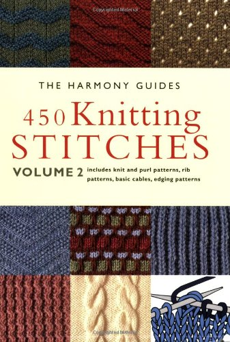 9781855856295: 450 Knitting Stitches: Volume 2 (The Harmony Guides)