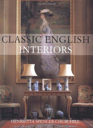 9781855859203: Classic English Interiors