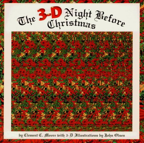 9781855862029: The 3-D Night Before Christmas